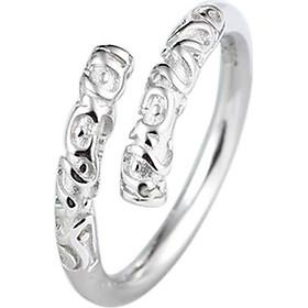 Nhẫn bạc nữ thiết bảng Wukong