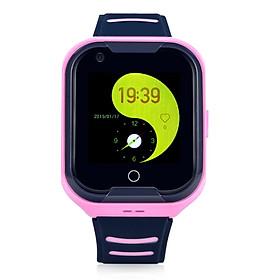 Đồng hồ định vị trẻ em nghe gọi video call Wonlex KT11 (Hồng) - Hàng chính hãng