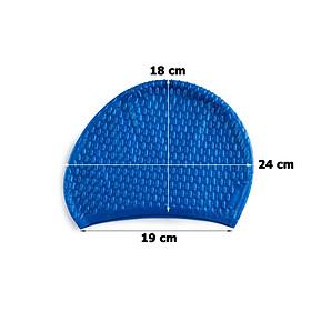 Nón Bơi, Mũ Bơi Cao Cấp 100% Silicone Không Thấm Nước HP304-4