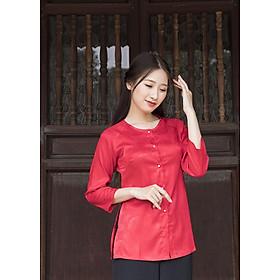 Áo Bà Ba Màu Pink Red
