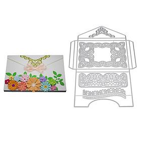 New 2018 Gift Box Greeting Card Decoration Metal Cutting Dies Embossing Die Cuts Scrapbooking Dies Metal Cut DIY Decoration