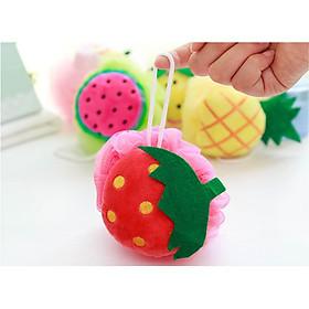 Bông tắm tạo bọt hình trái cây dễ thương