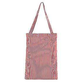 Túi Tote Nữ XinhStore TVBM_16 (41 x 30 cm) - Sọc Đỏ Trắng