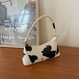 IELGY French minority designs cow underarm bar bag