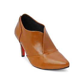 Giày Boot Nữ Cổ Thấp Rosata RO35 - Nâu