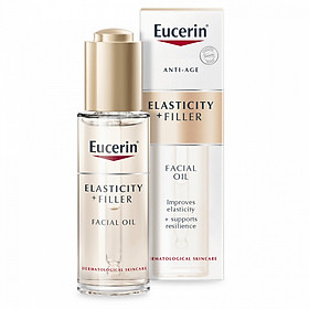 Dầu dưỡng da Eucerin Hyaluron Filler + Elasticity Oil (30ml)