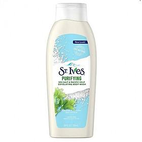 Sữa Tắm St.Ives Muối biển và Tảo biển 709ml - 077043401460