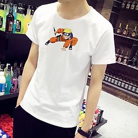 Áo Thun Nam Cực Hot - Chất Cotton - Dáng Body Thời Trang Hàn Quốc Giá Rẻ Cực Đẹp Kiểu Dáng Năng Động Cá Tính Siêu Hot Phù Hợp Đi Làm, Đi Chơi ANM-151 Naruto
