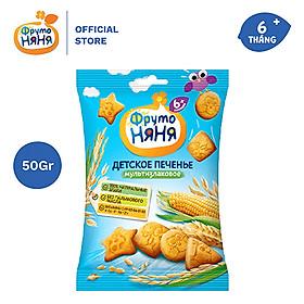 Biểu đồ lịch sử biến động giá bán Bánh quy ăn dặm ngũ cốc Frutonyanya 50g