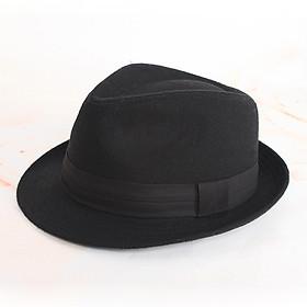 Mũ phớt nam thu đông cao cấp MP023 - Thiết kế cổ điển - Tặng kèm lót đế mũ
