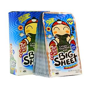 Hộp 12 Gói Snack Rong Biển Big Sheet Vị Hải Sản (4g)