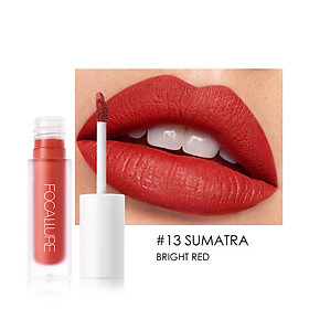 FOCALLURE Matte Lip Gloss Waterproof Long-lasting Moisturizing Liquid Lipstick Lip Tint