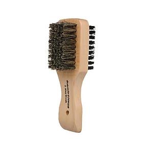Men's Beard Hair Brush Wood Handle Shaving Brush Men Mustache Brushes Comb Double-sided Facial Hair Brush