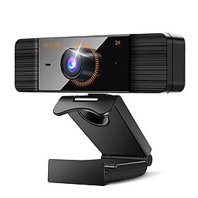 Webcam 2K Full HD 1080P Máy ảnh web có micrô USB Cắm Web Cam