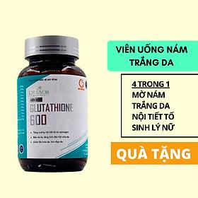 [ KÈM QUÀ TẶNG ] - Viên Uống Nám Trắng Da Glutathione 600 DR.LACIR - Hàn Quốc - Tặng 1 Thẻ Quà Tặng The Deosd