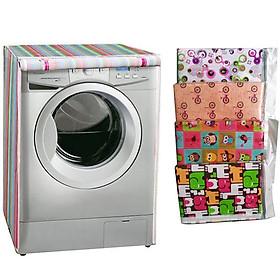 Áo Trùm Máy Giặt Cửa Trước Vải Dù 10-12kg Chống Thấm Chống Rách Thanh Long