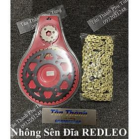 Nhông sên đĩa REDLEO dành cho xe Exciter 150, Mxking150