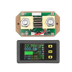 90V 0-500A Digital LCD Display Coulometer 2-way Current Measurement Voltmeter Ammeter Watt Meter Voltage Current Energy