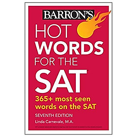 Hot Words For The SAT (Barron's Test Prep)