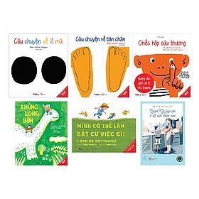 Combo 5 Cuốn Ehon Khoa Học Cơ Thể Người Và Picturebooks Song Ngữ (Tặng Kèm Sách Người Mỹ Giúp Con Ở Độ Tuổi Mầm Non)