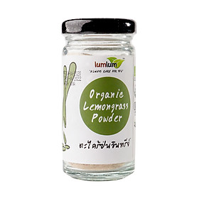 Bột Sả Hữu Cơ 30g Lumlum Organic Lemongrass Powder