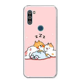 Ốp lưng điện thoại VSMART ACTIVE 3 - Silicon dẻo - 0047 SLEEP - Hàng Chính Hãng