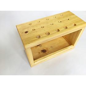 Hộp gỗ cắm cọ vẽ / bút viết CTC