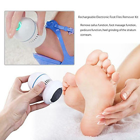Máy Tẩy Gót Chân Loại Bỏ Da Chết Electric Foot Grinder Charging Rechargeable Dead Skin Removal  Electronic Foot Rasps Portable Foot Care Tools Nail Art
