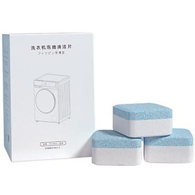 Combo 2 Hộp (Hộp 12 Viên) Tẩy Lồng Máy Giặt Dạng Sủi Nhật Bản, Vệ Sinh Máy Giặt Và Khử Mùi Hiệu Quả Với Công Nghệ Sủi Bọt Cô Đặc Thế Hệ 3