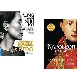 Combo 2 cuốn sách: Aung San Suu Kyi - Sợ Hãi & Tự Do + Napoleon Đại Đế
