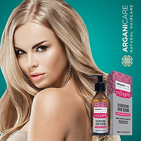 Tinh dầu ARGANICARE COLLAGEN HAIR SERUM 100ml ISRAEL