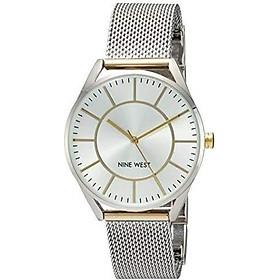 Nine West Women's NW/1922 Mesh Bracelet Watch