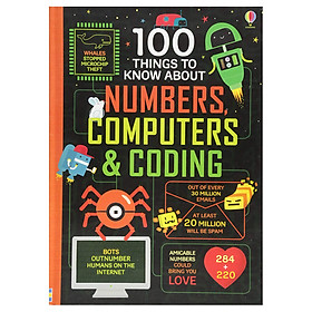 Usborne 100 Things To Know About Numbers , Computers and Coding