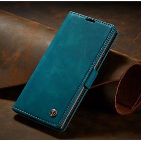 Bao da bò thật dạng ví chính hãng Caseme dành cho SamSung Galaxy Note 20 Ultra