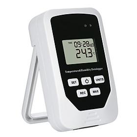 Mini USB Humidity Temperature Data Logger RH TEMP Datalogger Recorder Humiture Recording Meter with Heat Index and Dew