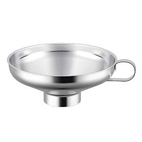 Canning Funnel, Kitchen Stainless Steel Mason Jar Canning Jar Funnel Wide Mouth for Wide and Regular Jars Canning Jar Transfer Dry and Wet Ingredient