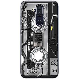 Ốp lưng dành cho  Nokia 8.1  mẫu Băng Casstte