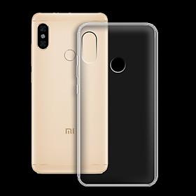 Ốp lưng cho Xiaomi Redmi Note 5/note 5 pro - 01124 - Ốp dẻo trong - Hàng Chính Hãng
