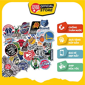 NBA - Set 30 sticker hình dán