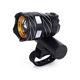Headlamp LED Light Cycle Zone IP65 USB Charging Outdoor Bicycle