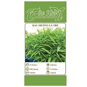 Bộ 1 gói Hạt giống rau muống lá tre- the xanh