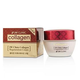 Kem dưỡng trắng da chống lão hóa Hàn Quốc cao cấp 3W Clinic Collagen Regeneration Cream (60ml) – Hàng Chính Hãng-0