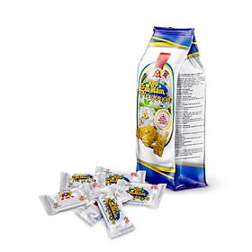 200g Kẹo giòn GẠO MẦM đậu phộng GỪNG tươi [ CHAY MẶN đều sử dụng được ]