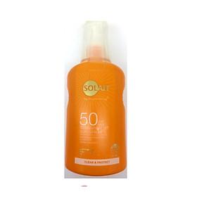 Kem chống nắng dạng xịt Solait Transparent Sun Spray SPF 50 (200ml)