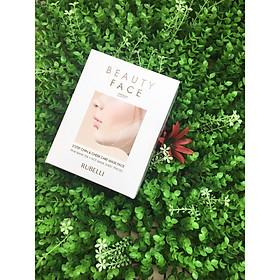 Mặt nạ thon gọn mặt Rubelli Vline Beauty Face Premium công thức cải tiến gồm  7 miếng mặt nạ (Hộp không dây)