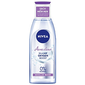 Nước Tẩy Trang Nivea Acne Care Make Up Clear Micellar Water (200ml)