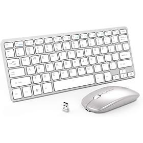 Bàn phím và chuột không dây Inphic V780 siêu mỏng nhẹ - Hàng Chính Hãng