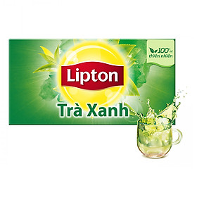 Hộp 50 Gói Lipton Trà Xanh (Gói 1.5g)
