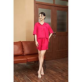 LADY ME by Eva de Eva Set Pyjama hồng