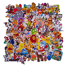 Set 100 Sticker - Cartoon